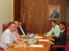 Reunión con el Presidente del F.C. Cartagena
