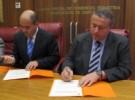 """Firma Adhesión """"Mesa Náutica de La Región de Murcia"""""""