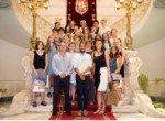 17 Jóvenes Artistas de Nacionalidad Rusa Visitan Cartagena