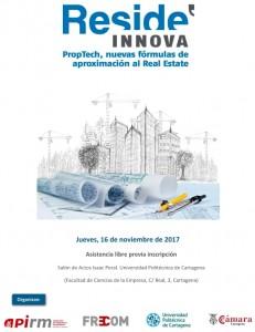 Cartel_Jornada Reside Innova PropTrech