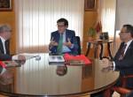 Reunión de Trabajo con el Presidente del Tribunal Superior de Justicia de Murcia
