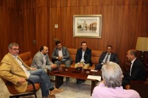 Encuentro con el cónsul marroquí 05-06-14 - 2