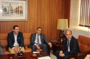 Encuentro con el cónsul marroquí 05-06-14