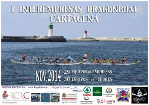 Inter-empresas Dragon Boat 2014