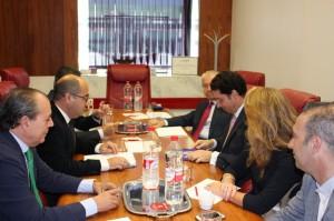Visita Presidente Autoridad Portuaria de Cartagena 6-11-14