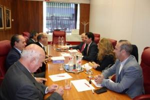 Visita Presidente Autoridad Portuaria de Cartagena 6-11-14 2