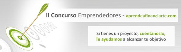 II Concurso de Emprendedores Aprendeafinanciarte.com