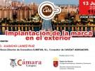 Webinar: IMPLANTACIÓN DE LA MARCA EN EL EXTERIOR