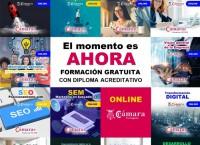 "Cursos Online Gratuitos ""Cámara & INCYDE"""