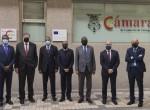 El Presidente de la Cámara de Comercio de Cartagena recibe a una delegación de la República Islámica de Mauritania