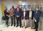 Los Presidentes de las Cámaras de Comercio de Cartagena y Lorca se reúnen en Murcia con Juan Marín Pérez, Director de la Agencia Tributaria de la Región